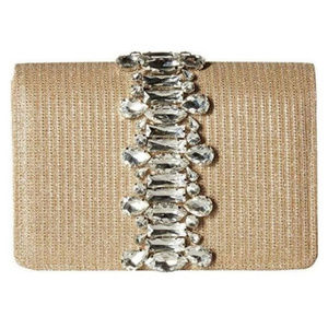 Adrianna Papell Womens Sandi Small Flap Clutch